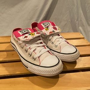 Converse All Star Low Double Tongue Size 8